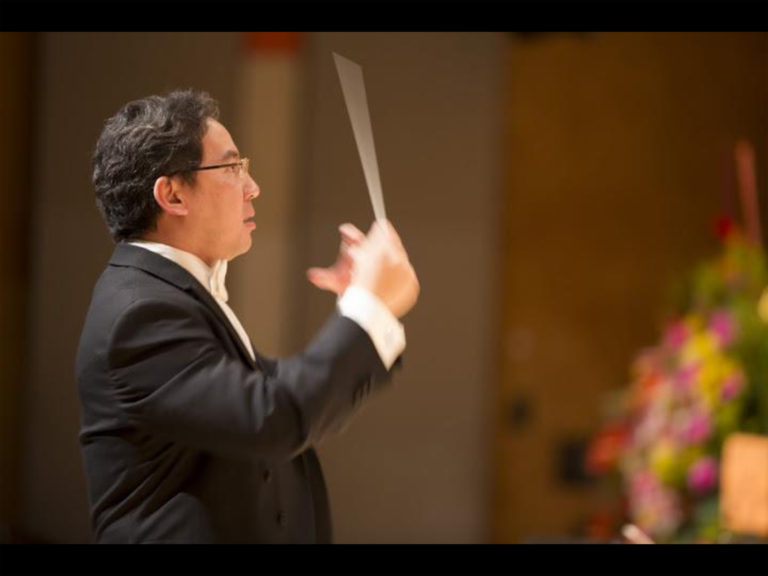 Conductor Andrew Chung
